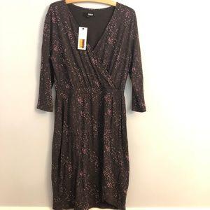 Brooklyn Industries Long Sleeve Splatter Dress